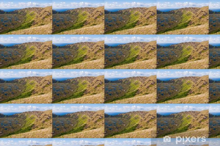Rano Kau volcano, Easter island (Chile) Vinyl Custom-made Wallpaper - America