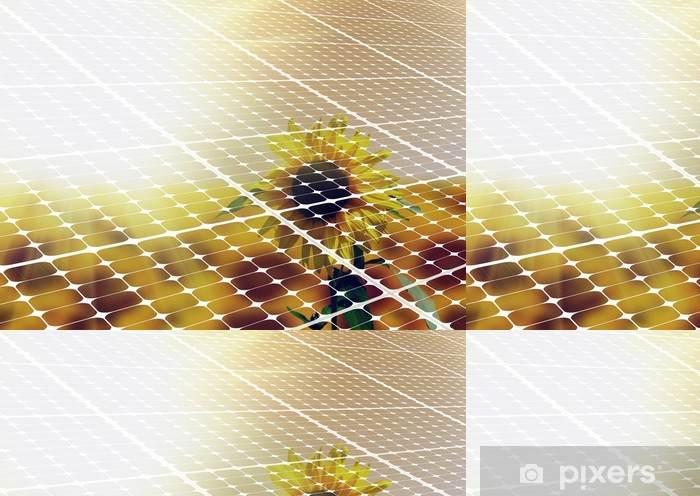 Vinylová Tapeta Solarenergie - Ekologie