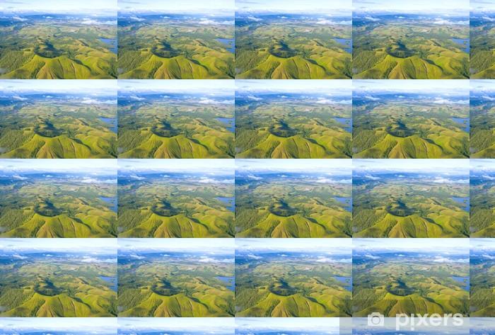 Tapeta na wymiar winylowa Lotnicze zdjęcie wybrzeża Nowej Gwinei - Inne Inne
