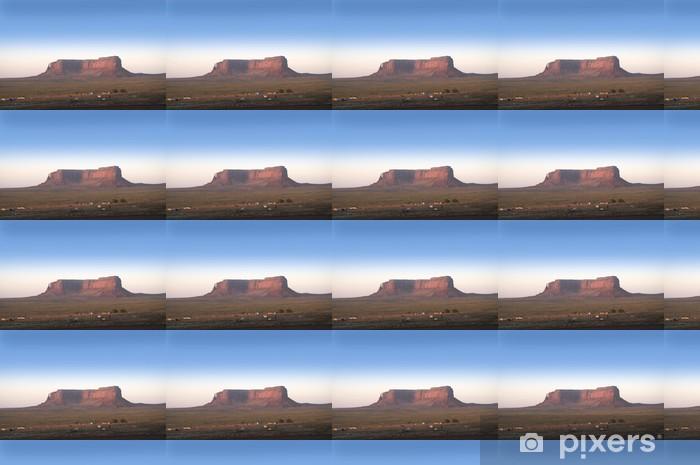 Papier peint vinyle sur mesure Monument Valley, Navajo terres tribales, Utah, USA - Amérique