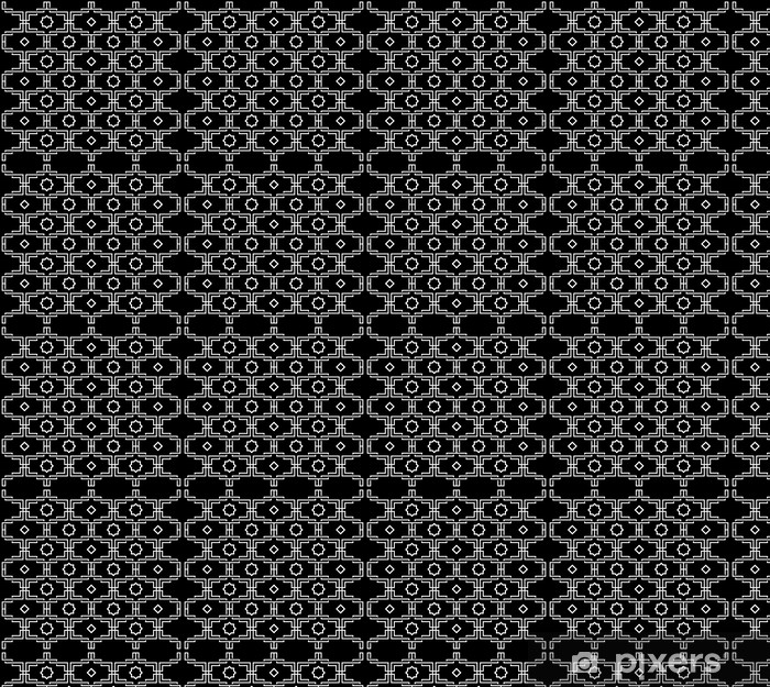 Tapeta na wymiar winylowa Czarno-biały wzór - Style