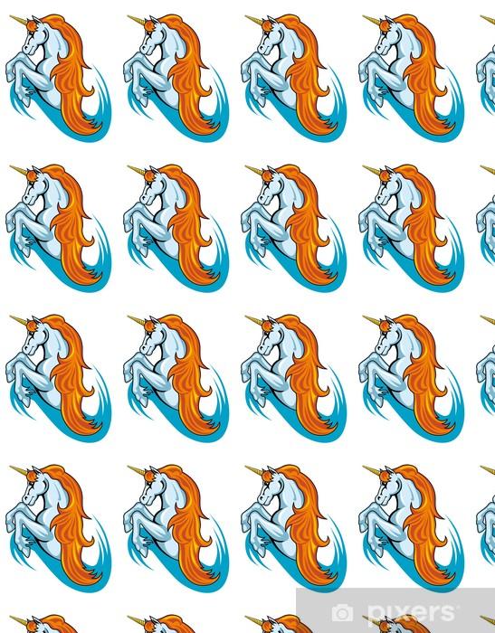 Tapeta na wymiar winylowa Fantasy unicorn koń - Fikcyjne zwierzęta