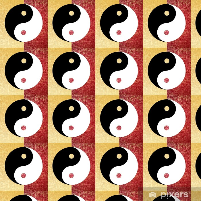 Tapeta na wymiar winylowa Yin yang symbol - Religie