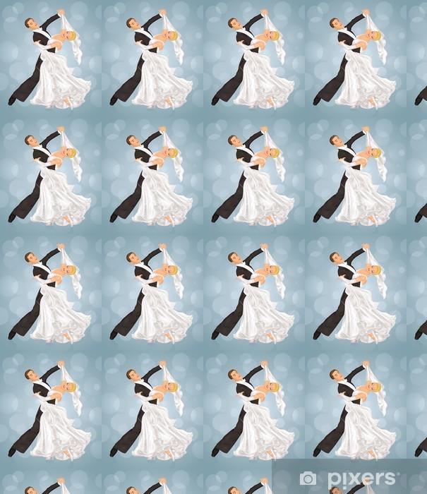 Papier peint vinyle sur mesure Danse de mariage. - Célébrations