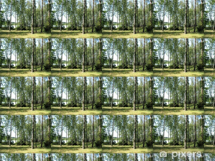 trees at lakeside Vinyl Custom-made Wallpaper - Themes