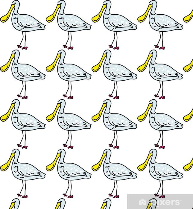 Papier peint vinyle sur mesure Spoonbill - Oiseaux