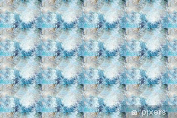 Vinylová tapeta na míru Modrá grunge textury - Pozadí