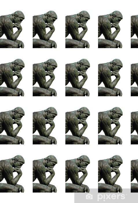 Vinylová tapeta na míru Myslitel by Rodin - Veřejné budovy