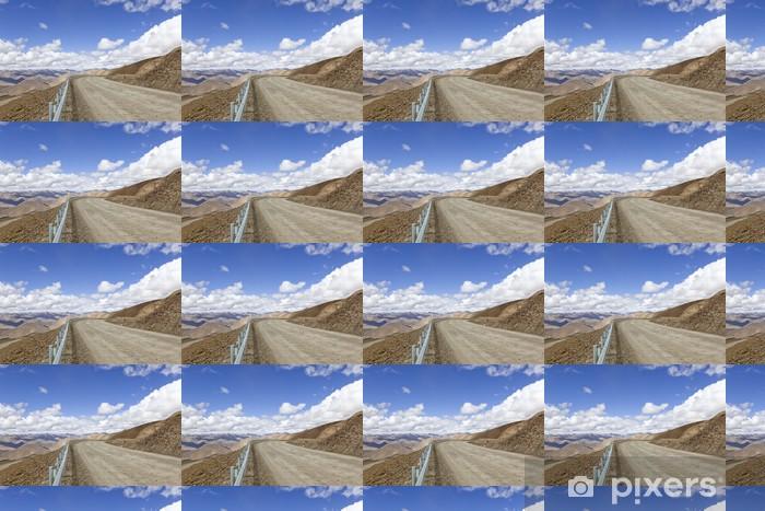 tibet: road into the himalayas Vinyl custom-made wallpaper - Themes