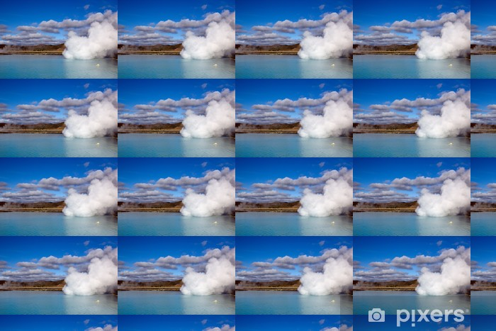 Vinylová tapeta na míru Geysir Island - Nebe