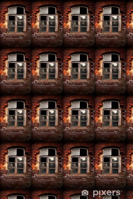 Vinylová tapeta na míru Altes Fenster Ziegel - Soukromé budovy