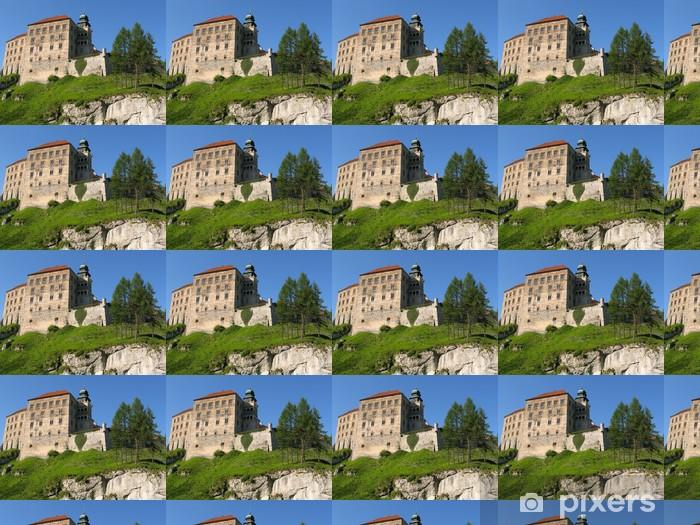 Tapeta na wymiar winylowa Zamek w Pieskowej Skale - Zabytki