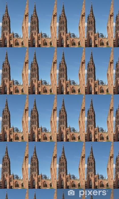 Coventryn katedraalin rauniot Räätälöity vinyylitapetti -