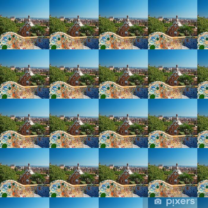 Tapeta na wymiar winylowa Park Guell Barcelona Hiszpania - Tematy