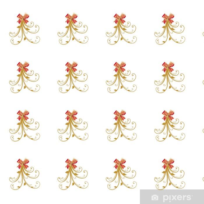 Tapeta na wymiar winylowa Noeud ROUGE OR Ruban - Święta międzynarodowe