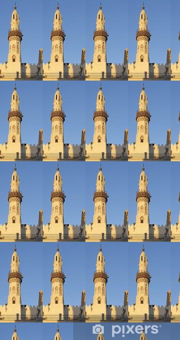 Tapeta na wymiar winylowa Meczet w Abu Haggag - Afryka