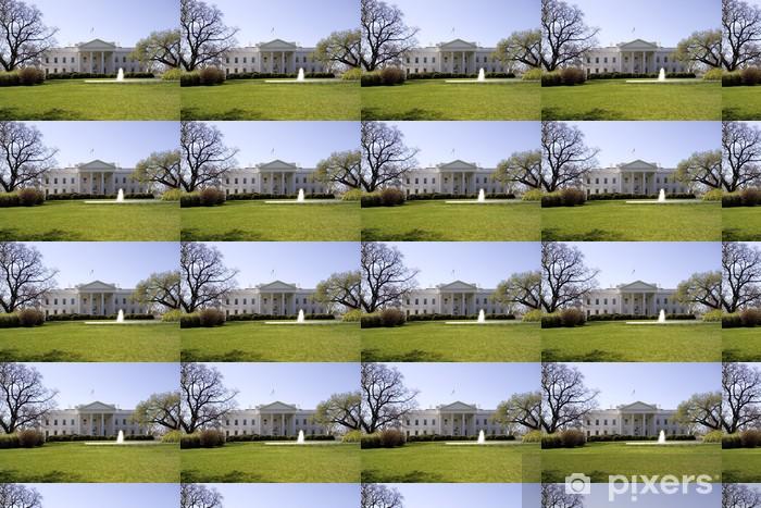 Papier peint vinyle sur mesure Maison Blanche à Washington DC - Villes américaines