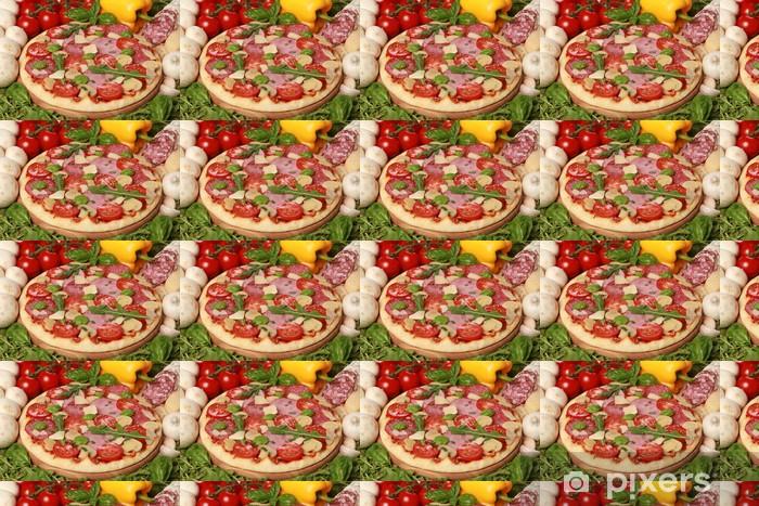 Tapeta na wymiar winylowa Special Pizza mit Zutaten - Tematy