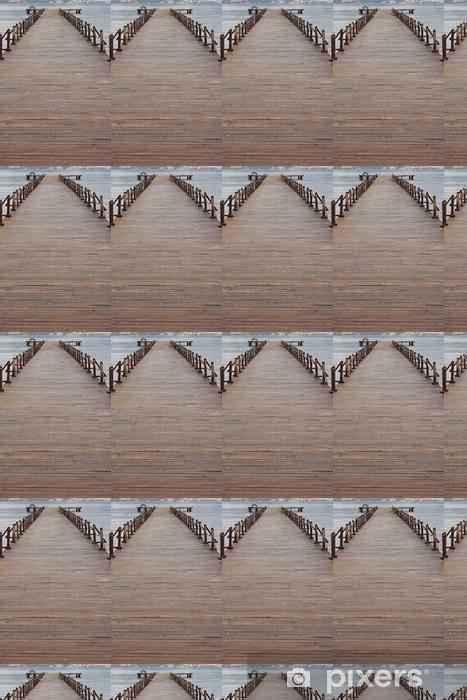 Wooden Pier Vinyl custom-made wallpaper - Themes