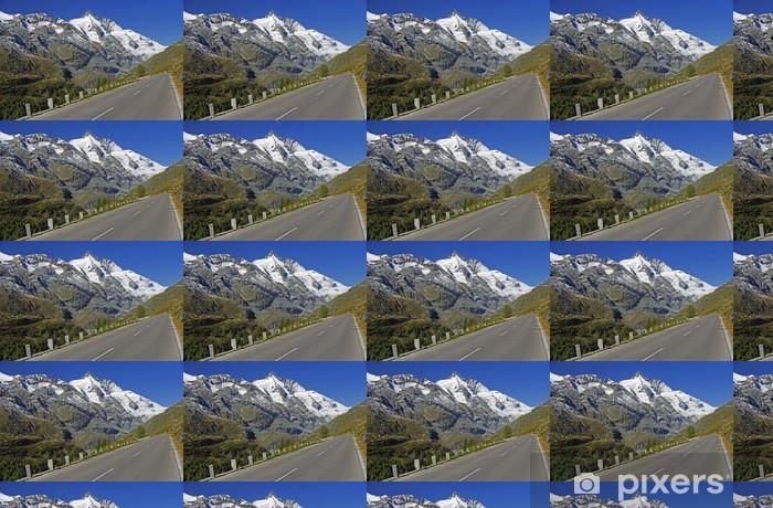 Papier peint vinyle sur mesure Le monde célèbre Grossglockner haute route alpine - Europe