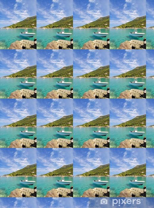 Vinylová Tapeta Am Cabo San Andrea auf der Insel Elba - Evropa