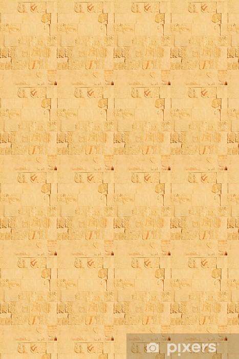 Vinyltapete nach Maß Bas-Relief an der Wand im Tempel der Königin Hatschepsut in Luxor - Afrika