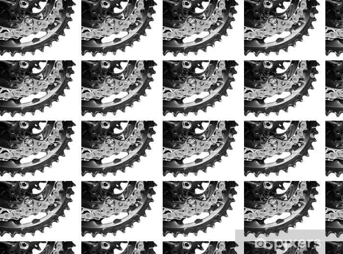 Papier peint vinyle sur mesure Pédalier de vélo - Sciences fondamentales et appliquées