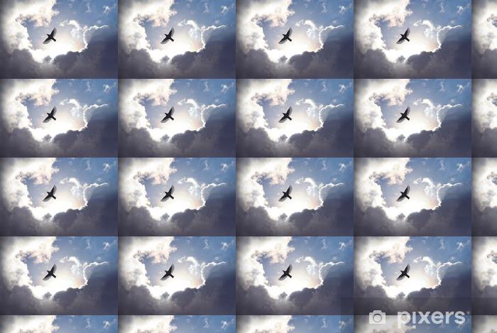 Tapeta na wymiar winylowa Anioł w niebie ptak - iStaging