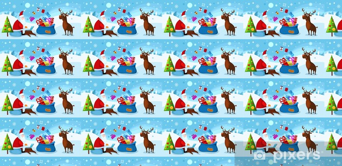 Tapeta na wymiar winylowa Kartka świąteczna - Święta międzynarodowe