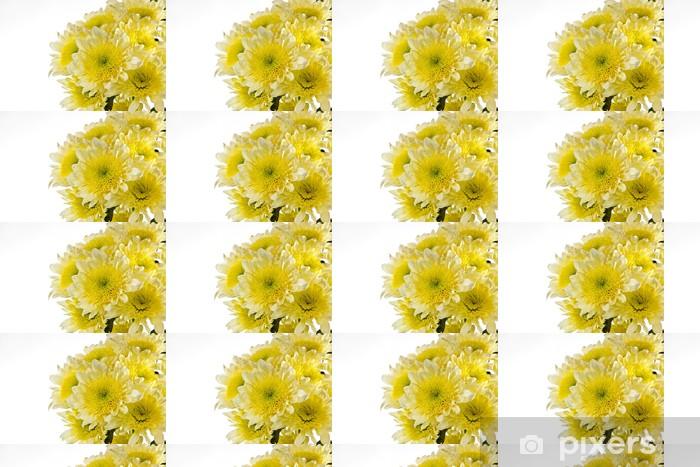 Papier peint vinyle sur mesure Chrysanthème est groupé. Ouvrir composition - Fleurs