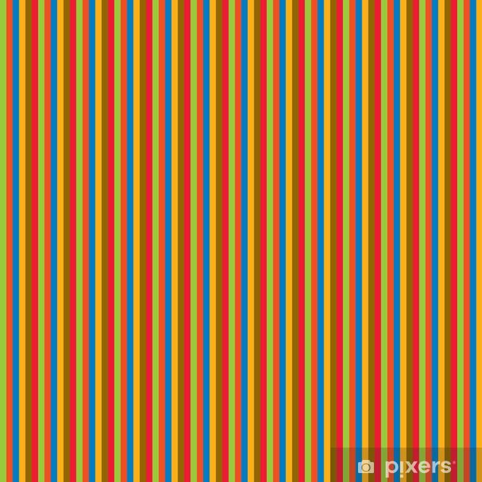 Papier peint vinyle sur mesure Lignes colorées - Mode