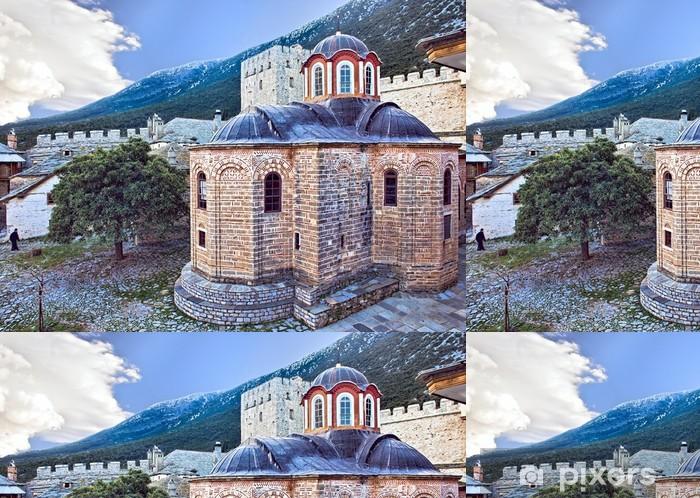 Vinylová Tapeta Kostel ve Velké Lavra na hoře Athos - Náboženství