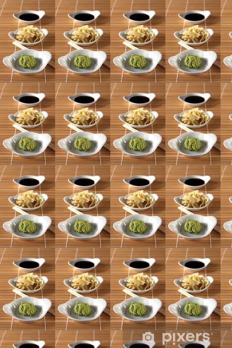 Tapeta na wymiar winylowa Beilagen sushi - Tematy