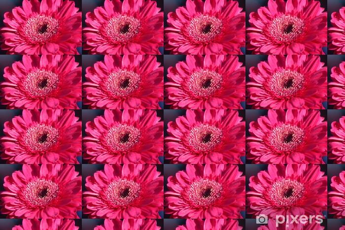 Tapeta na wymiar winylowa Duży czerwony kwiat - Rośliny