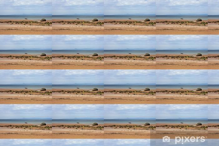 Papier peint vinyle sur mesure Ardrossan plage, Ecosse - Europe