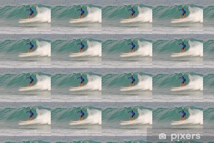 Tapeta na wymiar winylowa Shortboard surfer - Sporty indywidualne