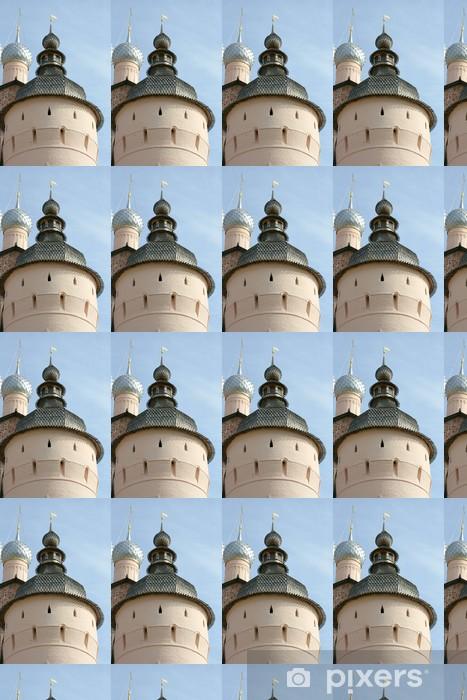 Tapeta na wymiar winylowa Starożytna wieża w Rostov Kremlin - Azja