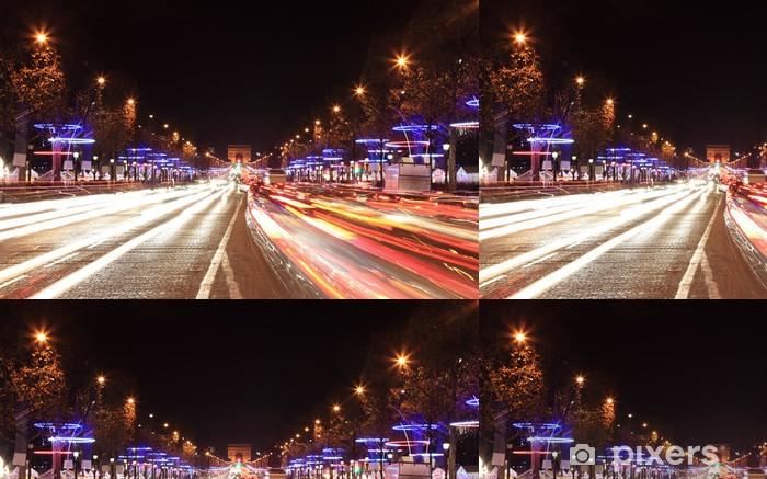 Vinylová Tapeta Avenue des Champs Elysées - Evropská města