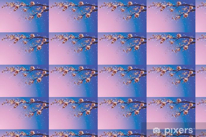 Vinyltapete nach Maß Spring branch floowers Hintergrund - Jahreszeiten