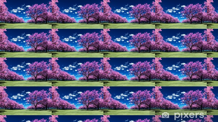 Tapeta na wymiar winylowa Cherry Blossoms - Lasy