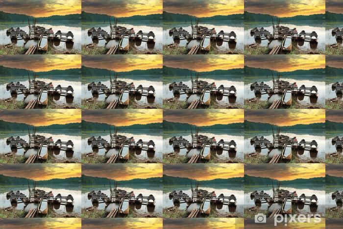 Vinyltapete nach Maß Tamblingan See - Asien