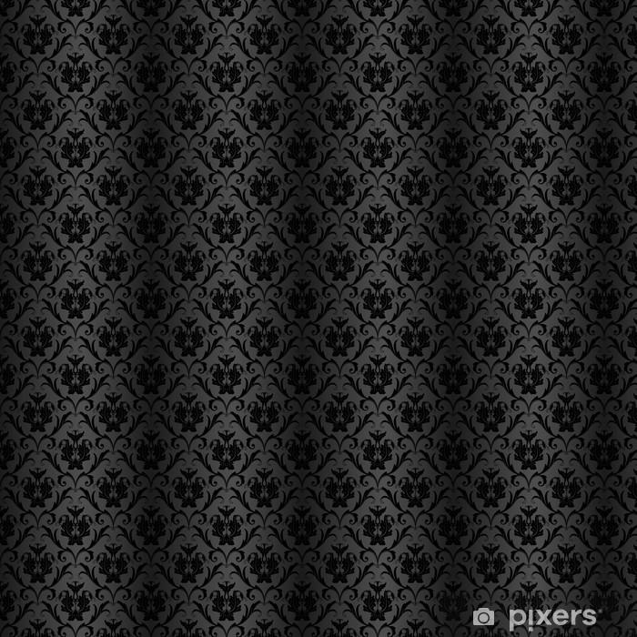 Papel Pintado Seamless Wallpaper Negro A Medida