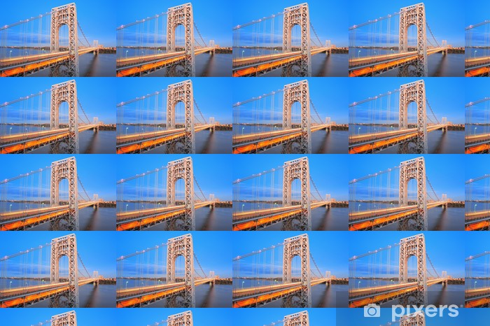 Vinylová tapeta na míru George Washington Bridge - Americká města