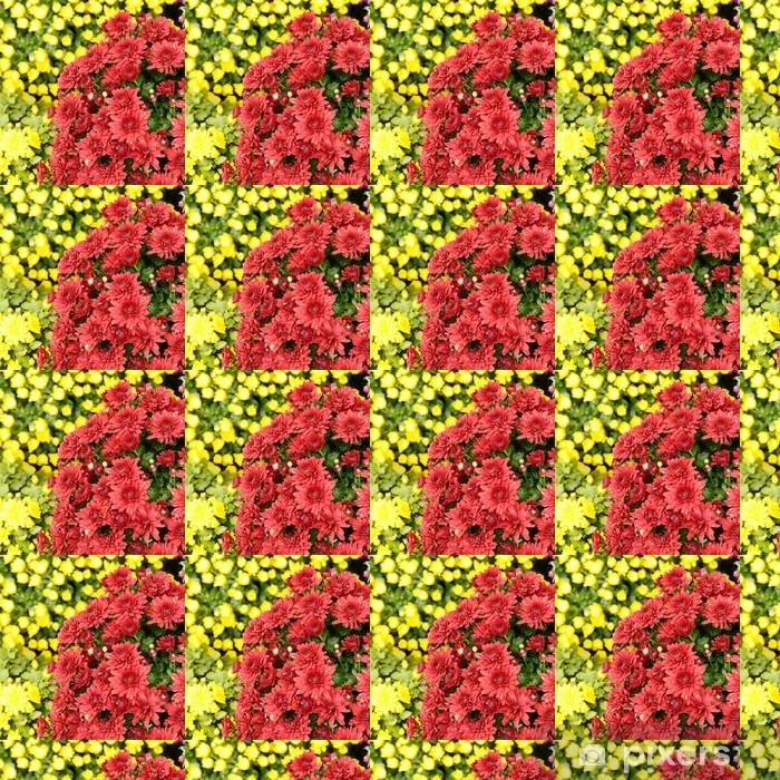 Vinylová tapeta na míru Chrysanthemums - Květiny
