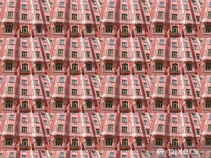 Superbe facade baroque a Prague Vinyl custom-made wallpaper - European Cities