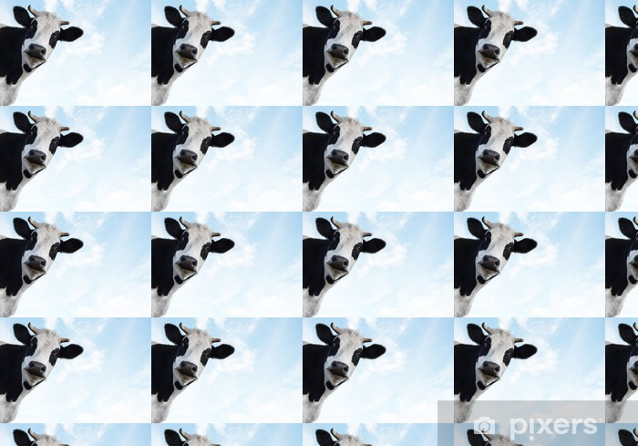 cow 2 (2)(10).jpg Vinyl custom-made wallpaper - Skies