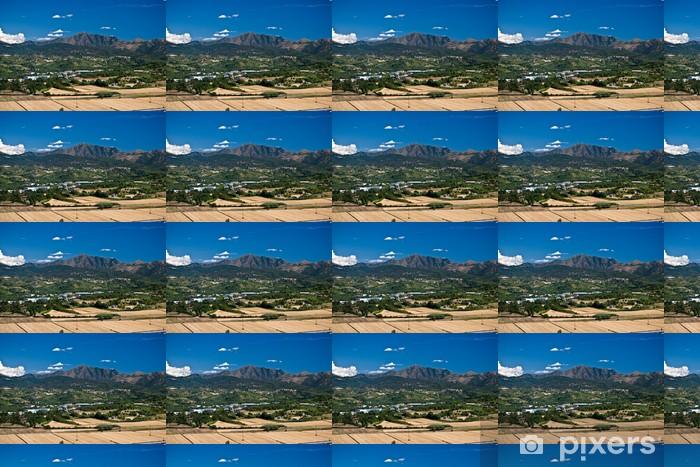 Papier peint vinyle sur mesure Monte Tobio - Vacances