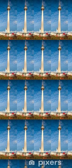 Tapeta na wymiar winylowa Wieża telewizyjna w Berlinie, Niemcy - Miasta europejskie