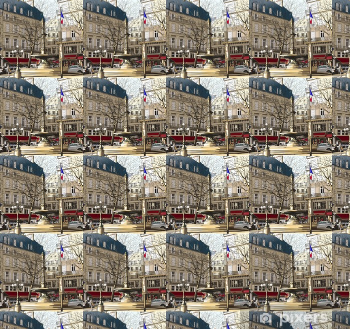 Vinylová tapeta na míru Paříž - Palais Royal - Témata