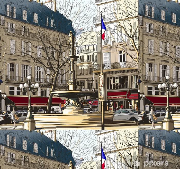 Vinylová Tapeta Paříž - Palais Royal - Témata
